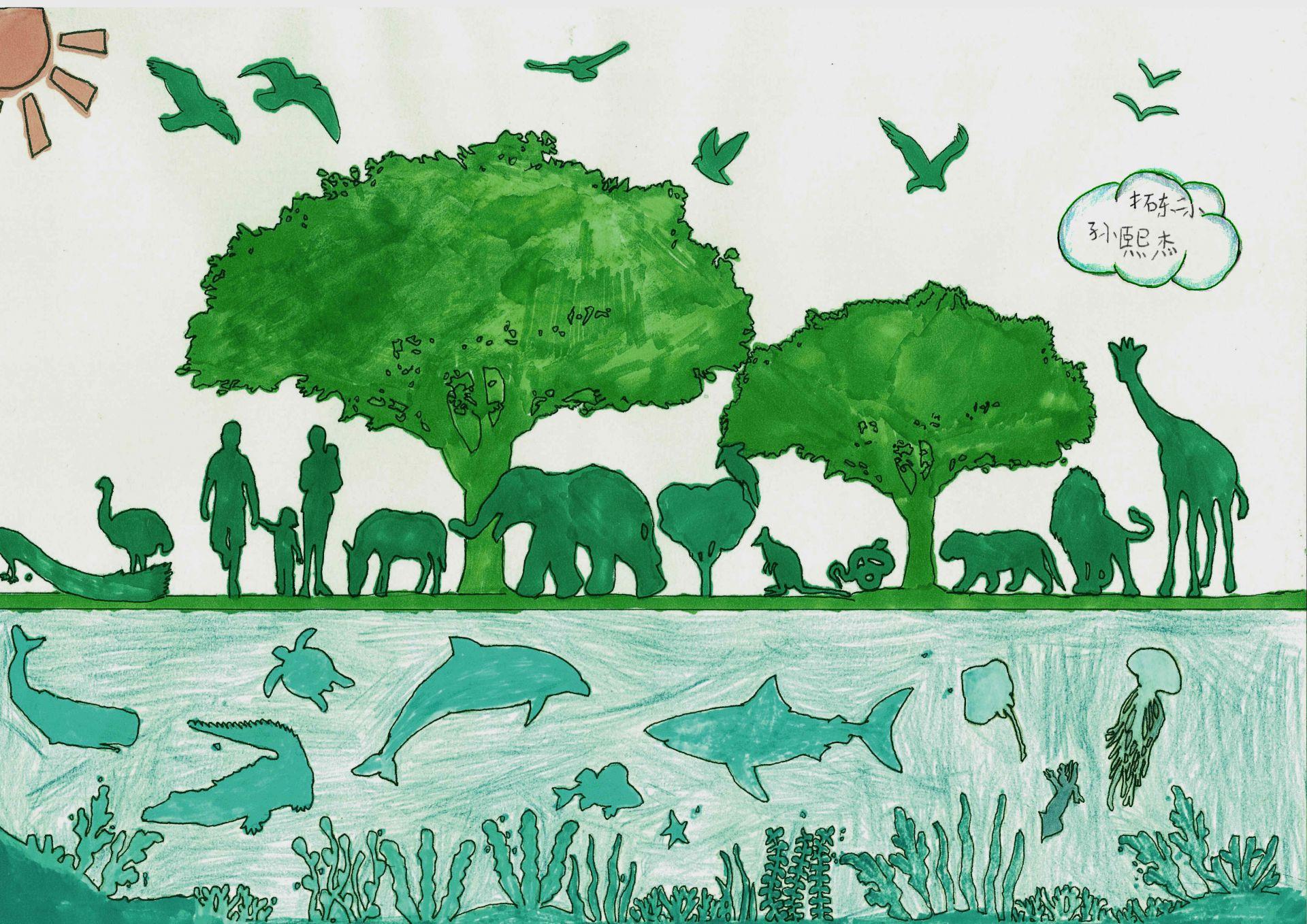 我是自然创想家|生物多样性大型雕塑主题彩绘公益活动优秀作品线上展·艺术家系列(五)