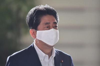 日本首相安倍晋三决定辞去首相一职