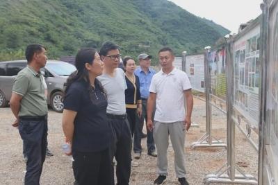 省、市领导赴中屏镇调研三江口温泉旅游度假区