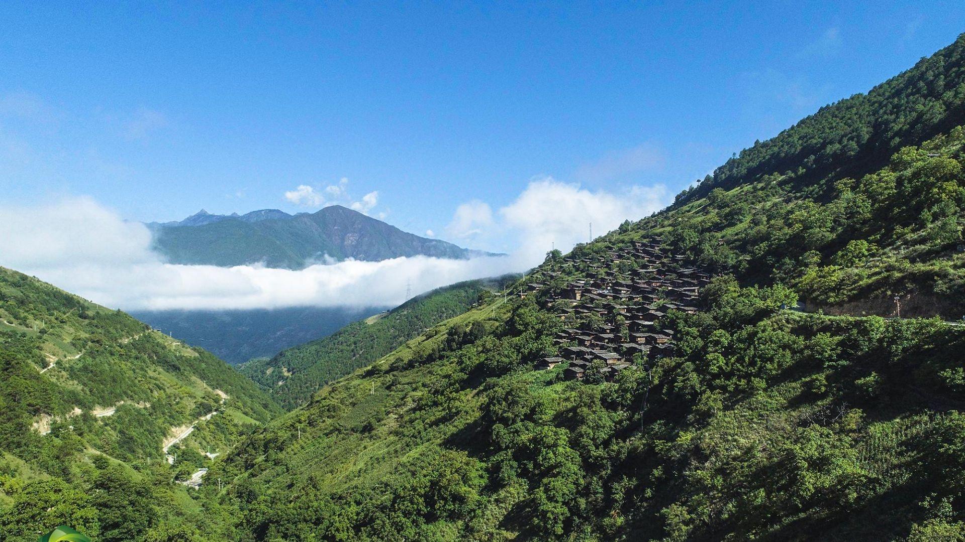 图集   大山深处的傈僳古村落—维西县同乐村