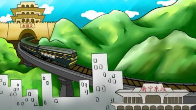 """【发现最美铁路】""""小慢车""""跑出山区扶贫""""加速度"""""""