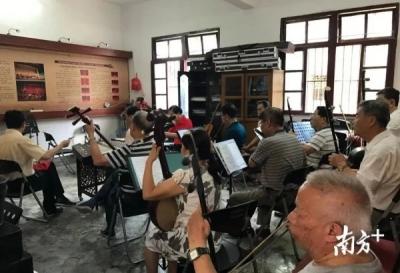 省文化站长培训班学员来梅州大埔开展现场教学活动