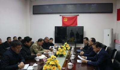 兴县晋绥边区革命纪念馆召开干部大会