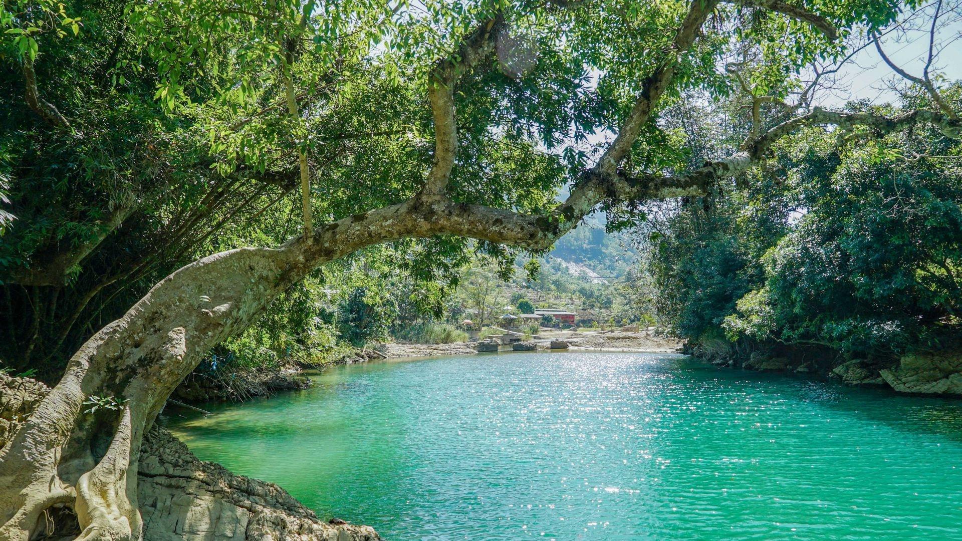 图集 | 青山绕绿水,花坝神谷好休闲