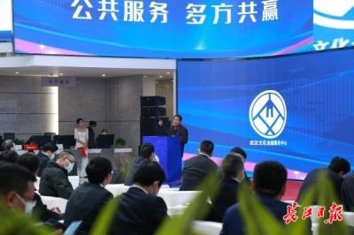 """武汉文化金融服务中心启用,国家级示范区创建驶入""""快车道"""""""