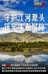 """中国宝""""藏"""" 西藏持续推进生态安全屏障建设 保护蓝天白云"""