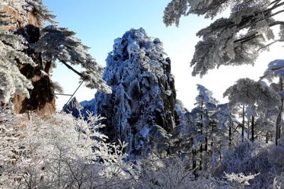 冬日黄山,雪后销魂