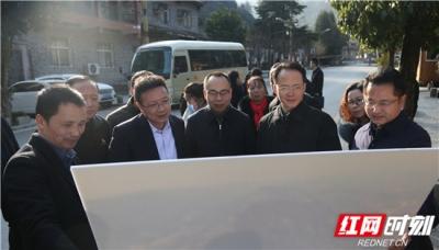 深圳华侨城文化旅游科技集团有限公司到张家界市对接项目