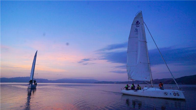 图集丨风日晴和人意好 夕阳箫鼓几船归