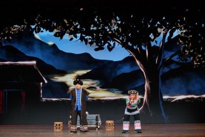 花灯、彝剧齐上阵!楚雄州2个节目在昆顺利展演