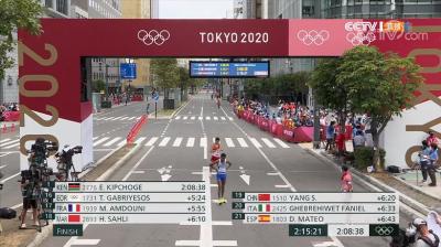 刷新最佳排名!云南籍选手杨绍辉获东京奥运会男子马拉松第19名,董国建获57名
