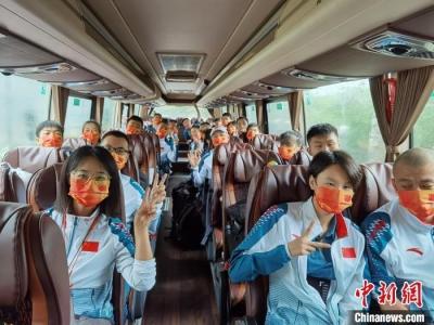 中国代表团开启东京残奥之旅 首批成员今启程