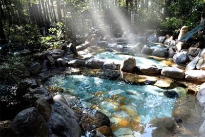 安宁金方森林温泉:藏在森林中 与自然对话