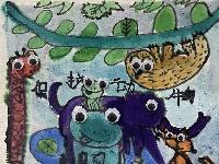 我是自然创想家|生物多样性大型雕塑主题彩绘公益活动优秀作品线上展·小画家系列(一)
