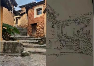 祖国好 家乡美丨玉溪元江:邂逅坡垤村 挥毫山水间