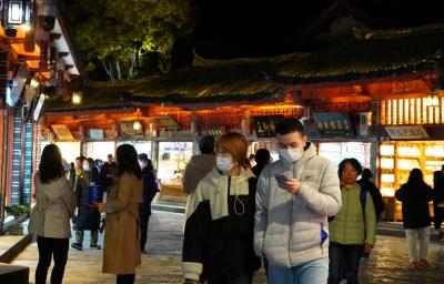 夜游丽江古城,是游人的心头爱!