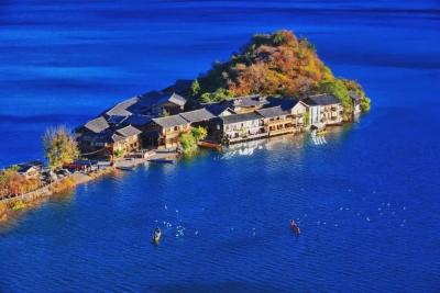 【生态】丽江泸沽湖:护一池碧水荡漾