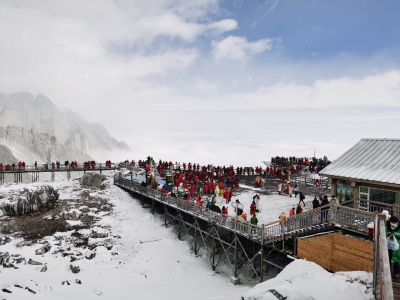 这里有丽江最美雪景图!让你一次看个够!