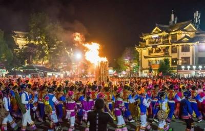 彝乡恋歌丨彝家人的古老习俗,在彝人古镇焕然一新!