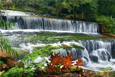 武定水城河:秋天里绮丽绝美的山水画卷