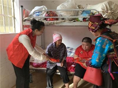 你的心愿我来圆丨文山州文旅局志愿服务进社区,群团组织在行动